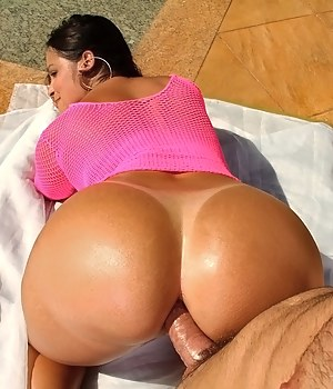 Dick in Big Ass Porn Pictures