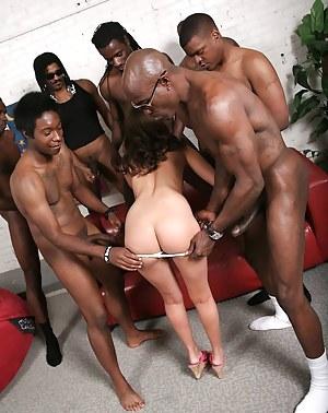 Big Ass Gangbang Porn Pictures